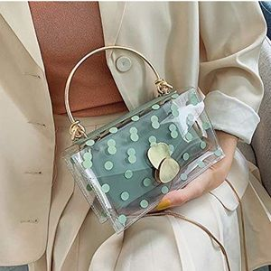Dotted Transparent Crossbody Bag